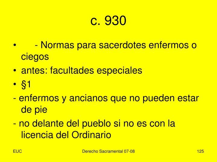 c. 930