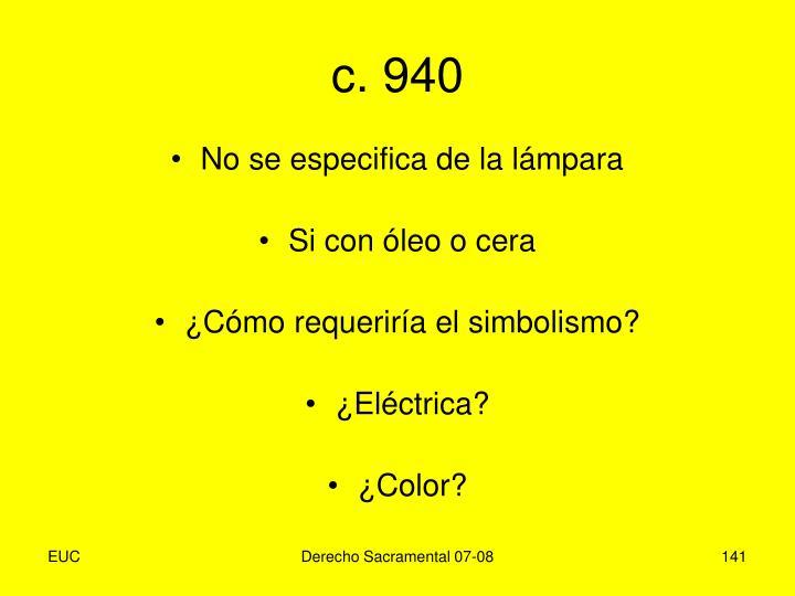 c. 940