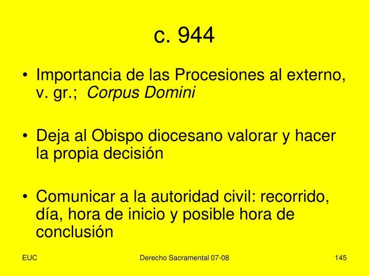 c. 944