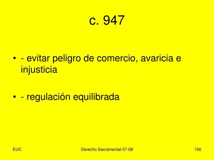 c. 947