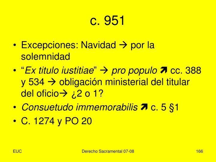c. 951