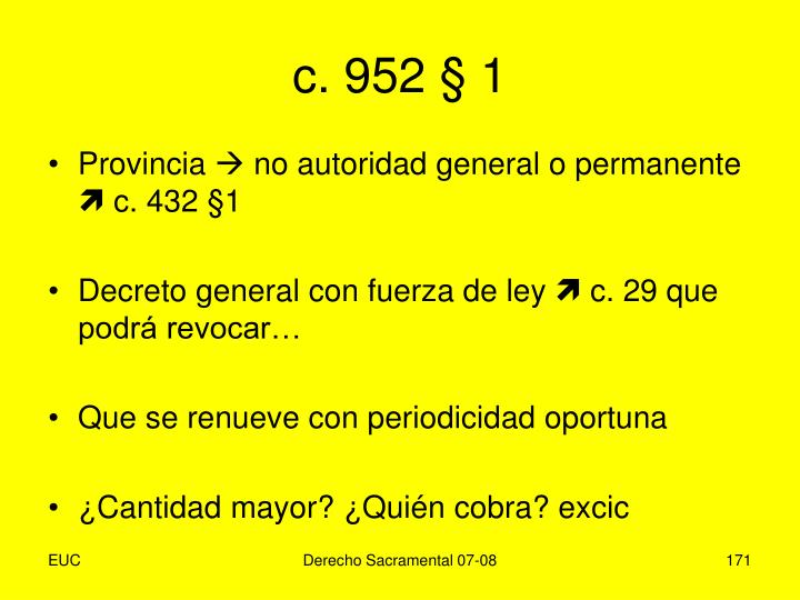 c. 952 § 1