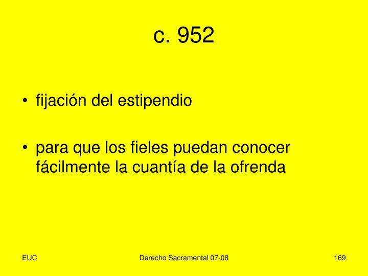 c. 952