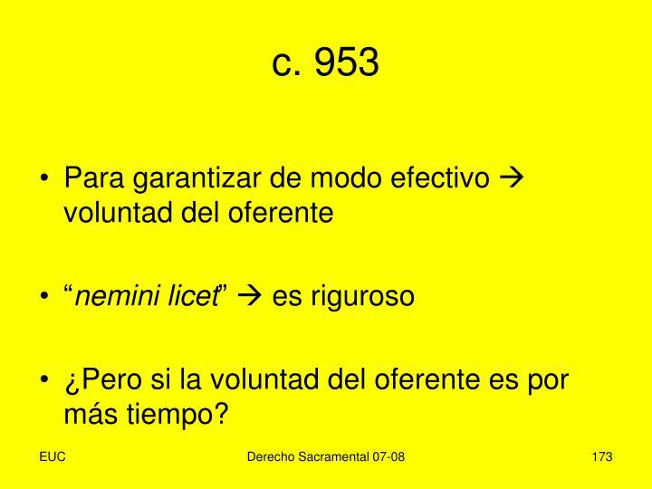 c. 953