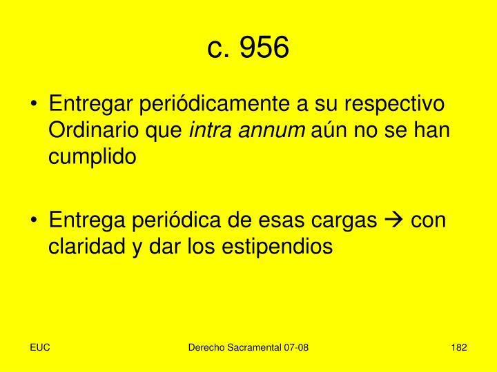c. 956