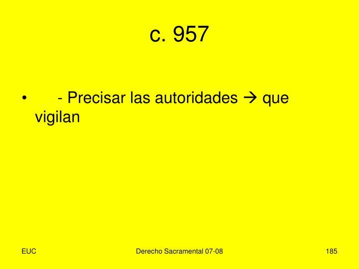 c. 957