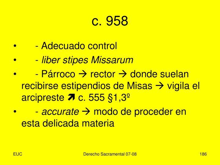 c. 958