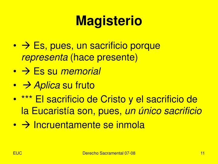 Magisterio