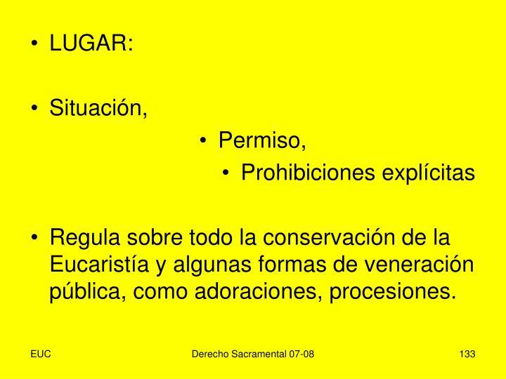 LUGAR: