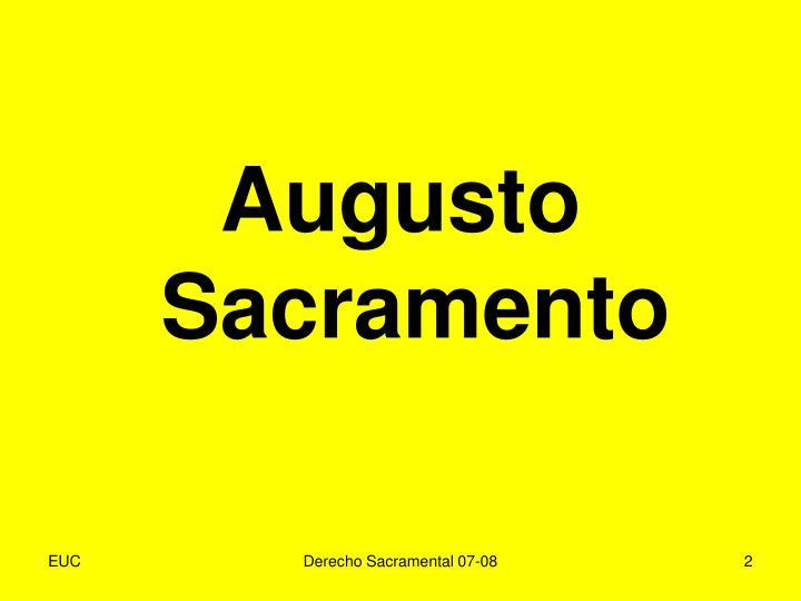 Augusto Sacramento