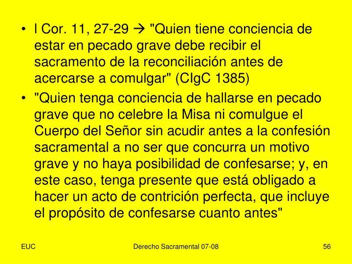 l Cor. 11, 27-29