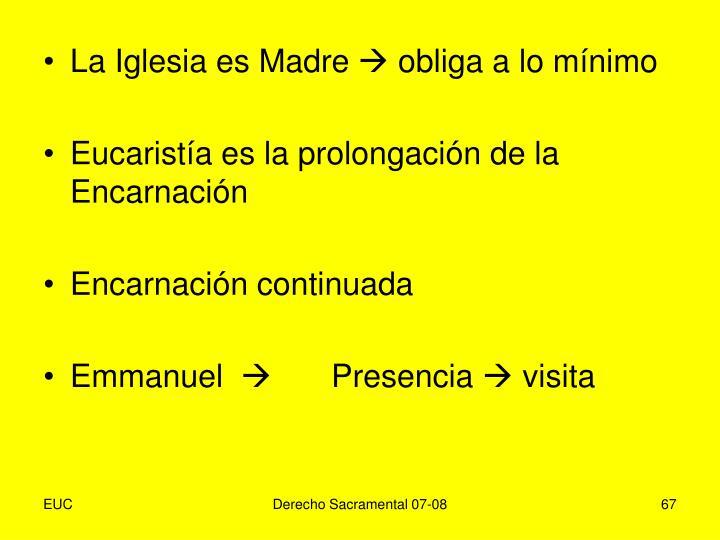 La Iglesia es Madre