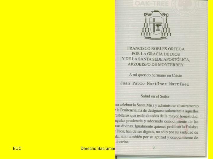 Derecho Sacramental 07-08