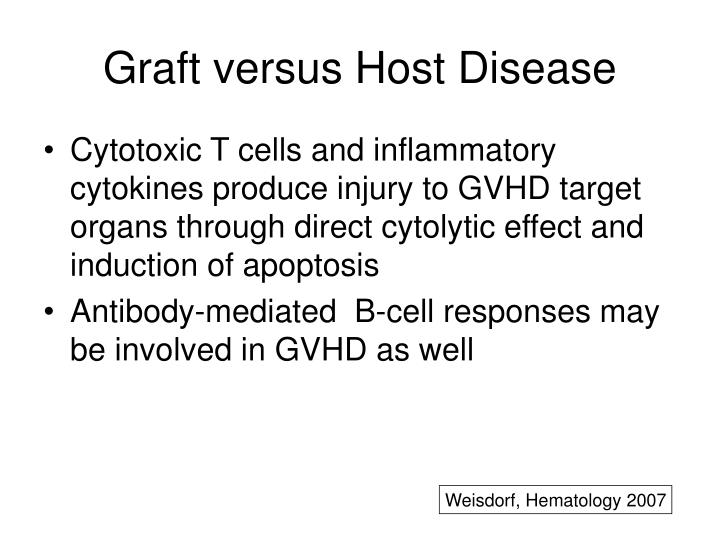 Graft versus Host Disease