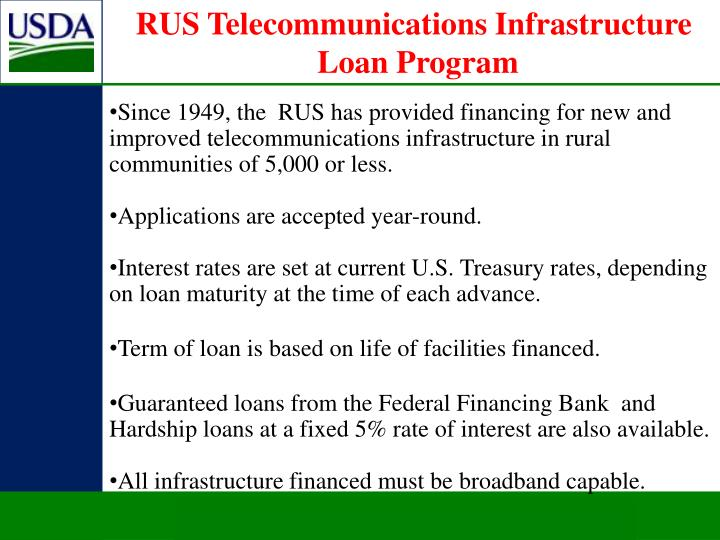 RUS Telecommunications Infrastructure