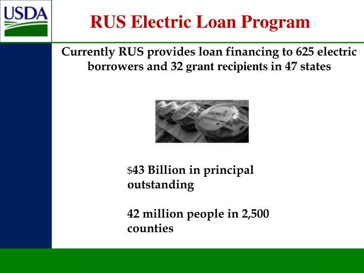 RUS Electric Loan Program