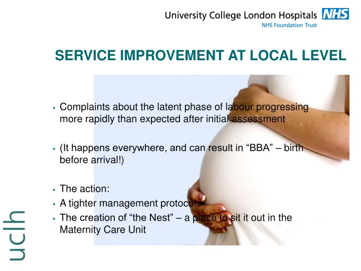 SERVICE IMPROVEMENT AT LOCAL LEVEL