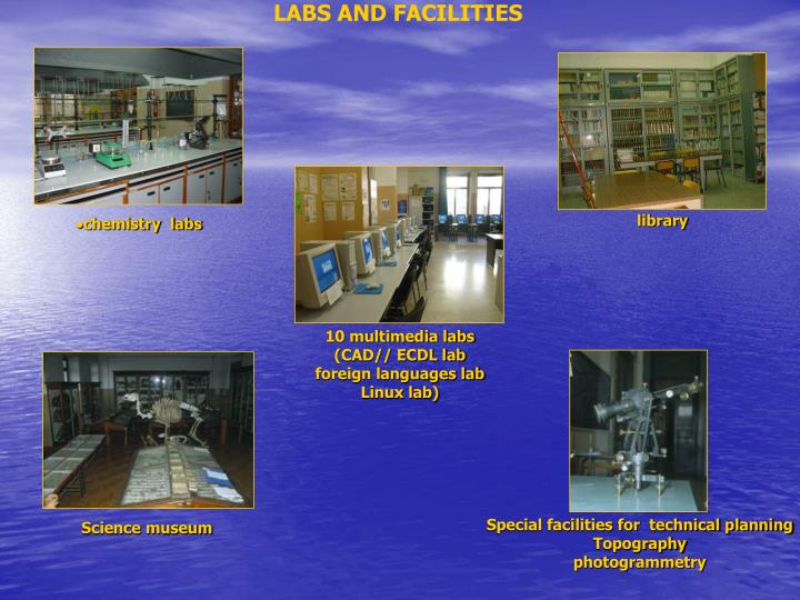 LABS AND FACILITIES