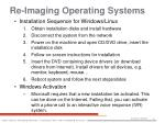 re imaging operating systems