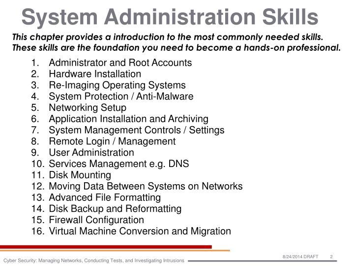 System Administration Skills