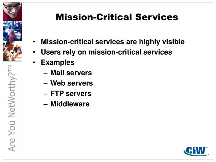 Mission-Critical Services