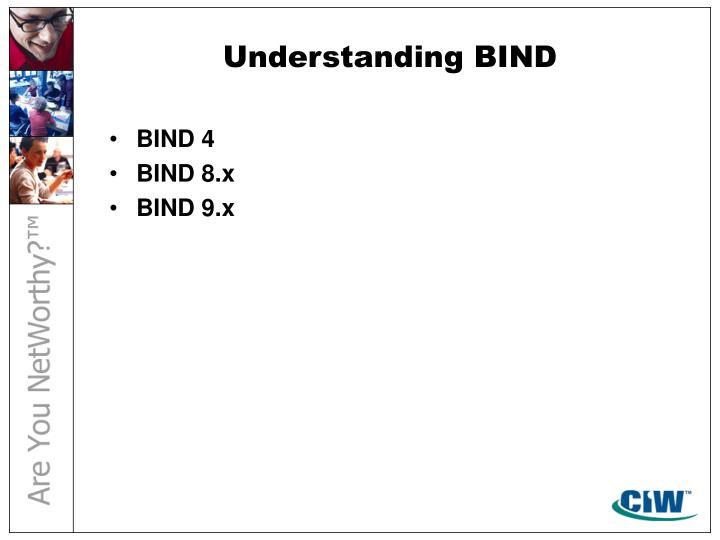 Understanding BIND