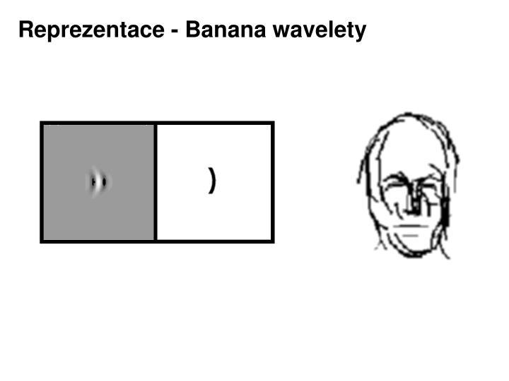 Reprezentace - Banana wavelety