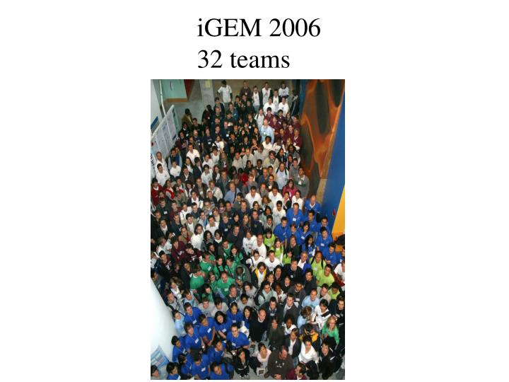 iGEM 2006