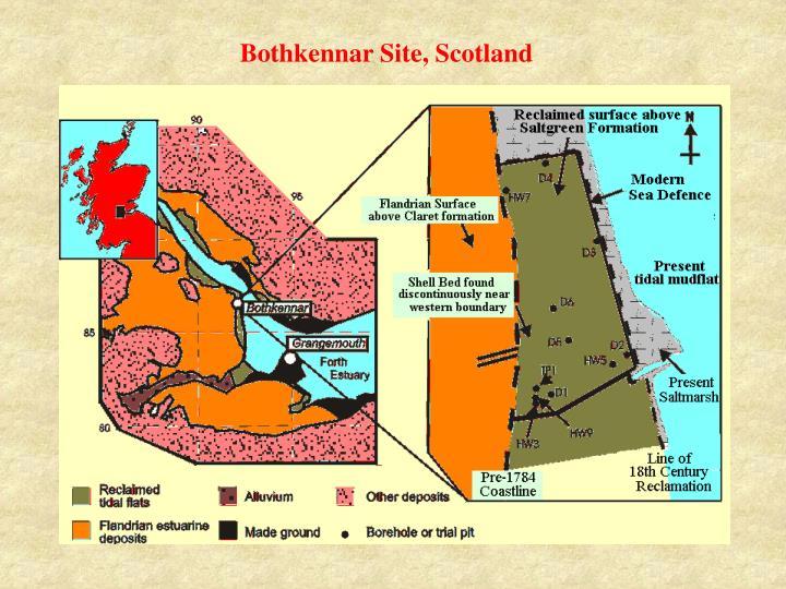 Bothkennar Site, Scotland