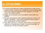 a stoicismo