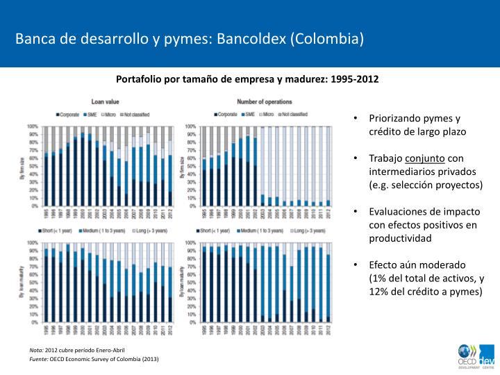 Banca de desarrollo y pymes: