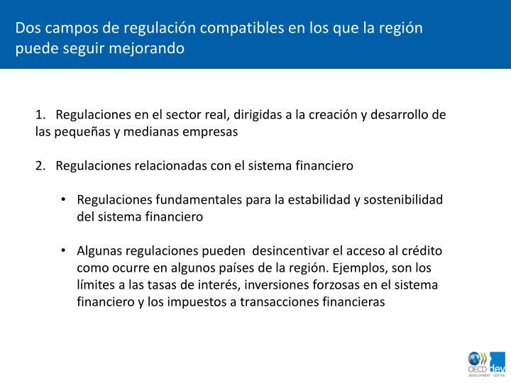 Dos campos de regulaci