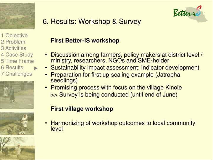 First Better-iS workshop
