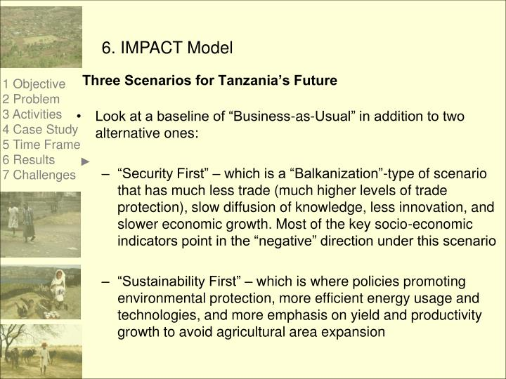 Three Scenarios for Tanzania's Future