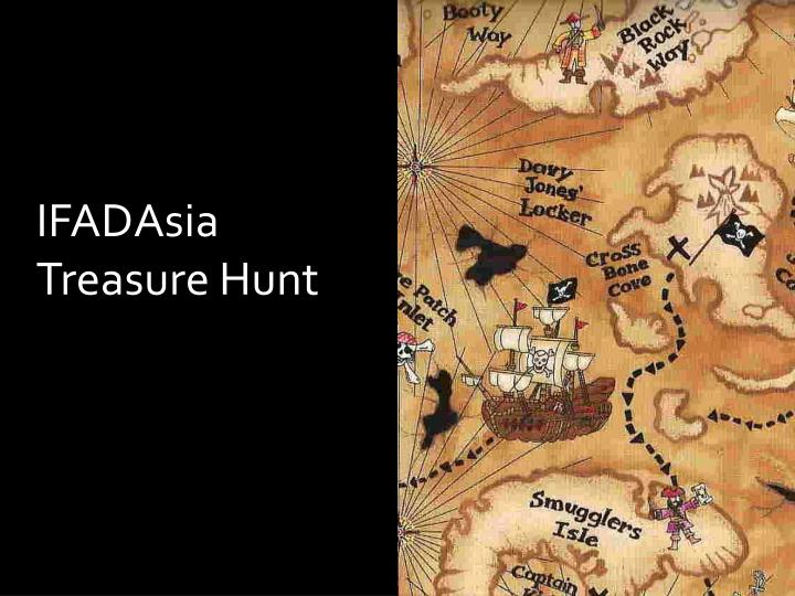 IFADAsia Treasure Hunt