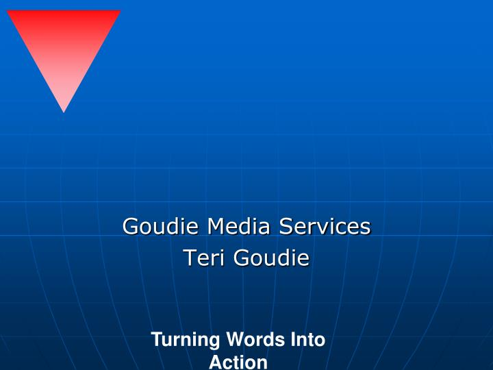Goudie media services teri goudie