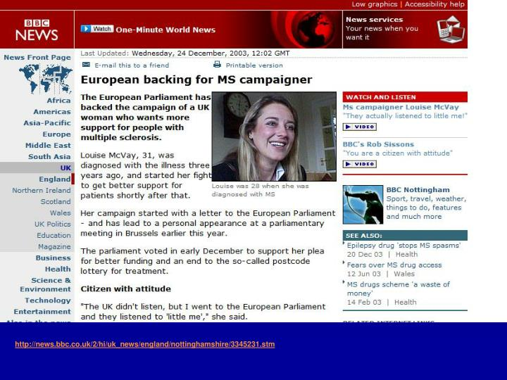 http://news.bbc.co.uk/2/hi/uk_news/england/nottinghamshire/3345231.stm