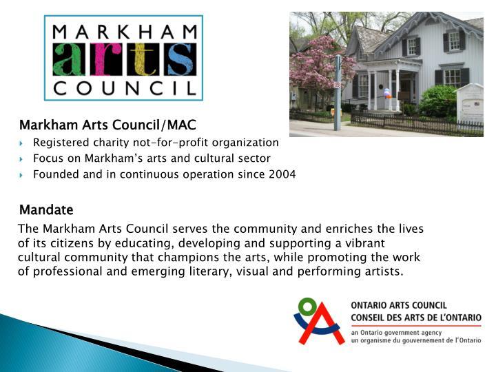 Markham Arts Council/MAC