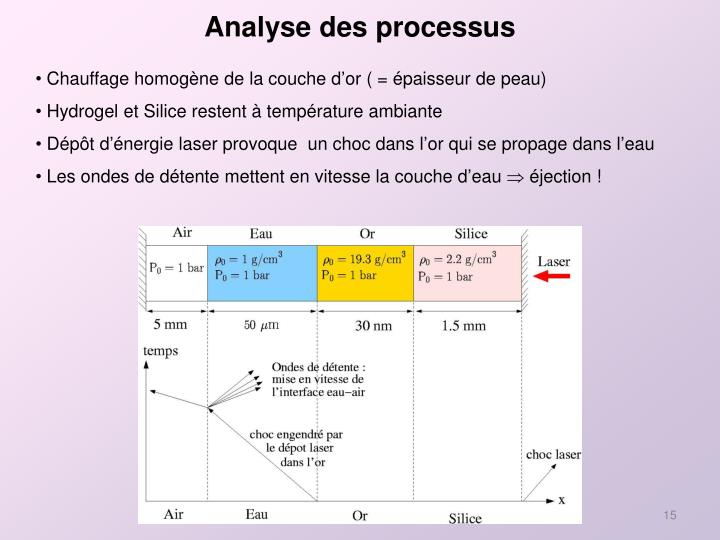 Analyse des processus