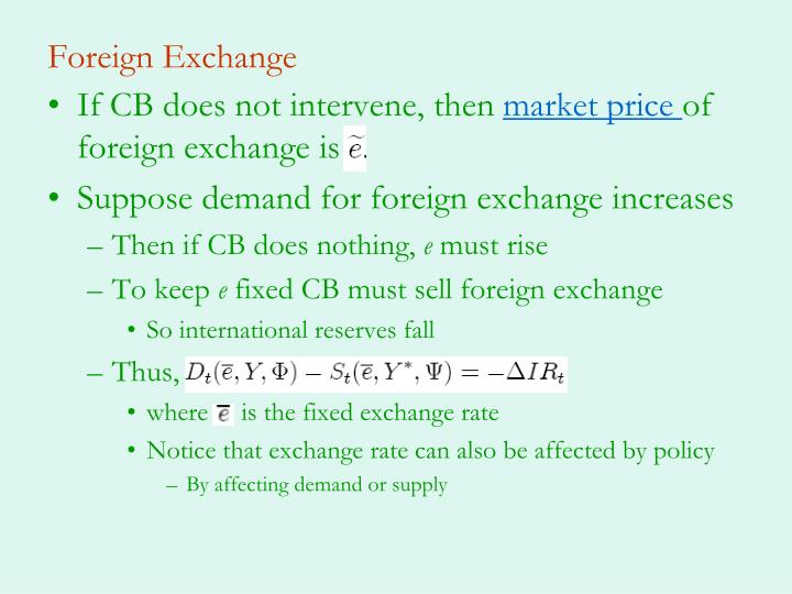Foreign Exchange