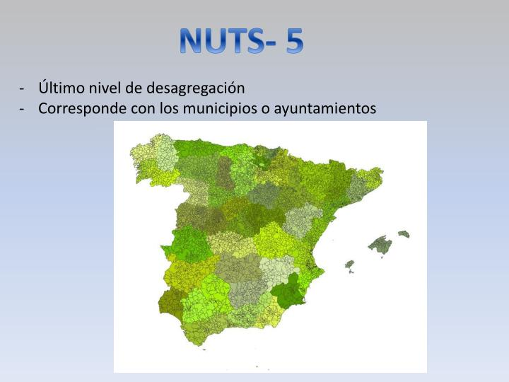 NUTS- 5