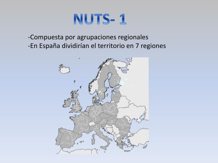 NUTS- 1