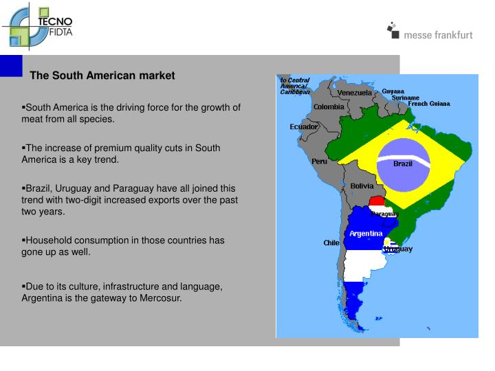 The South American market