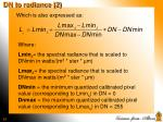 dn to radiance 2