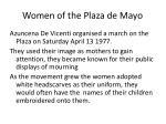 women of the plaza de mayo