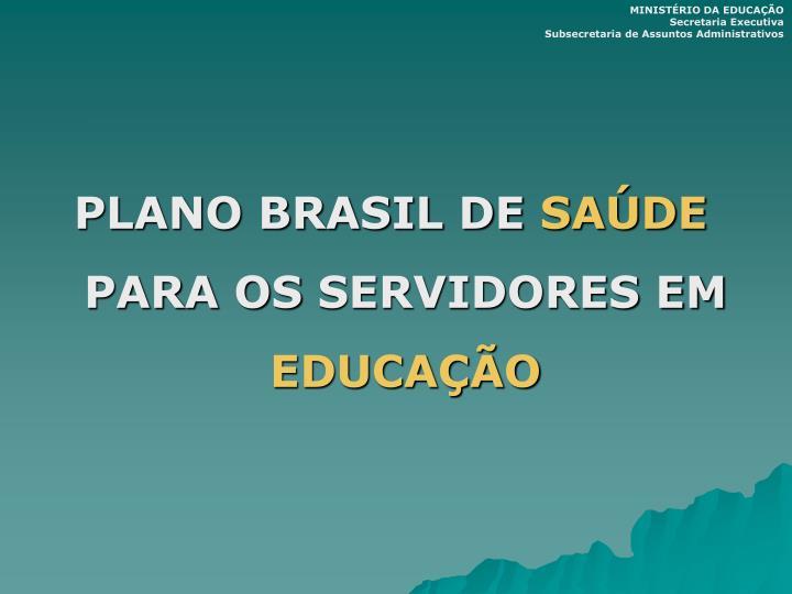 PLANO BRASIL DE