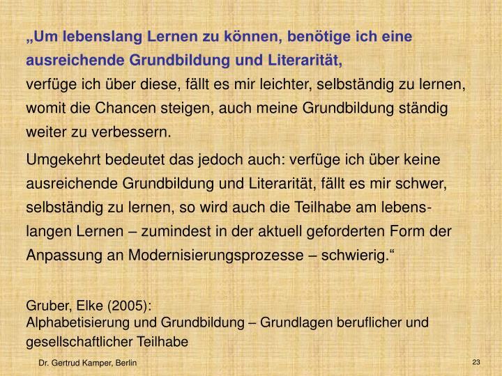 Gruber, Elke (2005):
