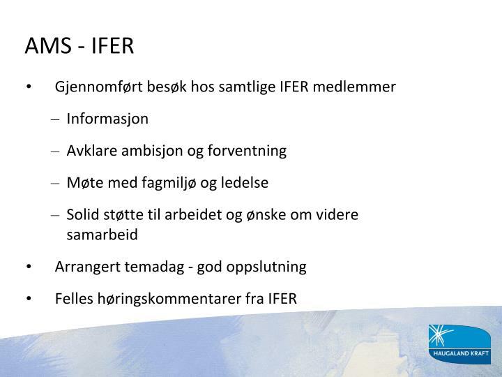 AMS - IFER