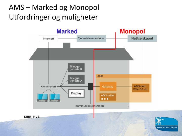 AMS – Marked og Monopol