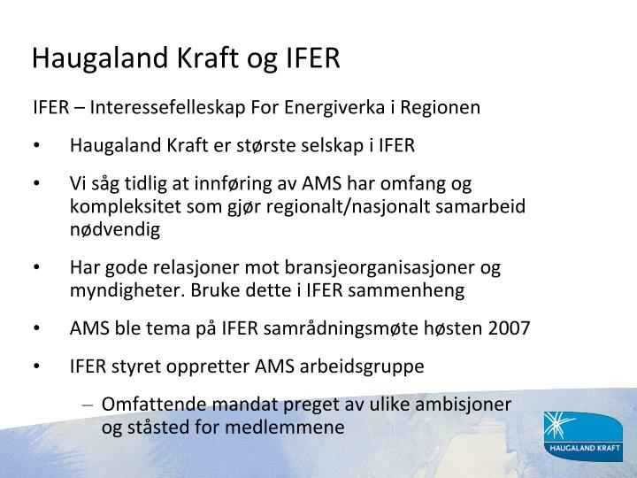 Haugaland Kraft og IFER